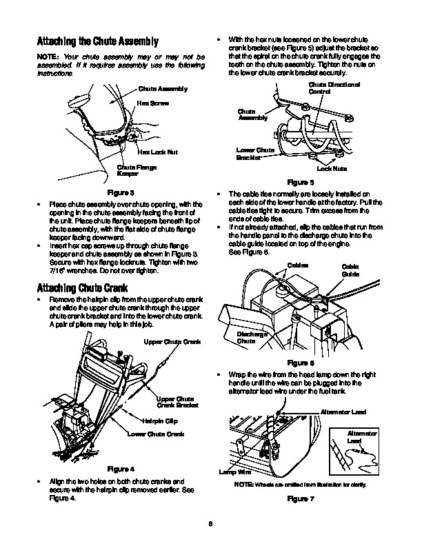 ALL Snowblowers Owner s Manuals