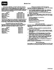 Toro 38026 1800 Power Curve Snowthrower Instrukcja Obsługi, 2009 page 16