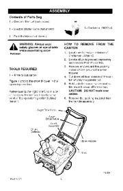 Craftsman 536.881501 Craftsman 22-Inch Snow Thrower Owners Manual page 6