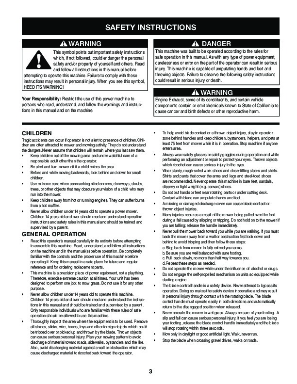 craftsman 247 889330 10 5 horse 33 inch wide cut lawn mower owners rh lawn garden filemanual com Home Depot Lawn Mower Manual Home Depot Lawn Mower Manual