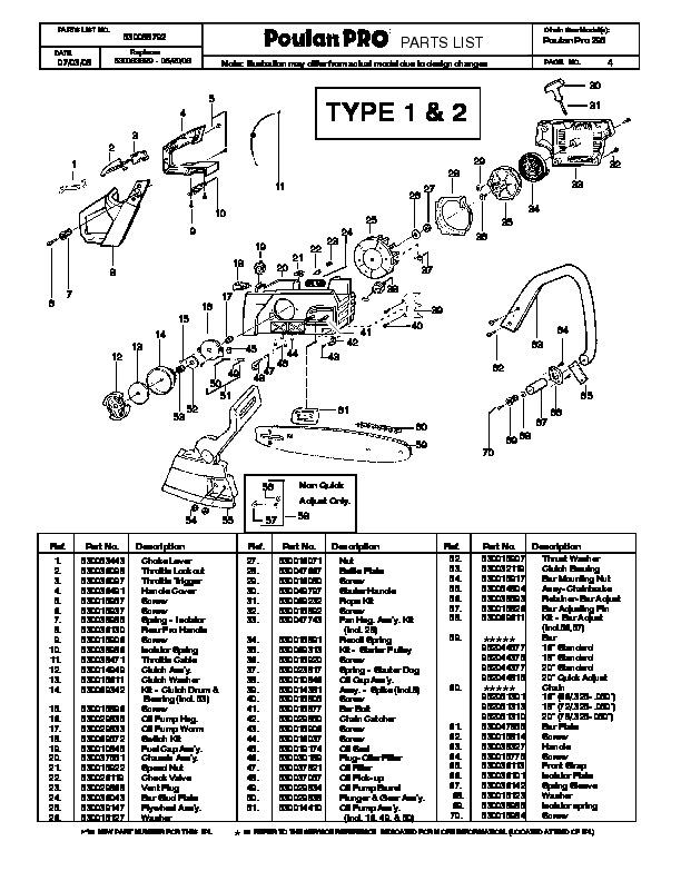 poulan pro 295 chainsaw parts list  2008 bobcat snow thrower manual pdf loncin snow thrower manual