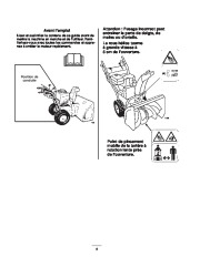 Toro 38053 824 Power Throw Snowthrower Manuel des Propriétaires, 2003 page 6