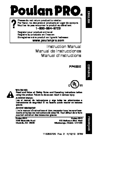 poulan pro instruction manual rh poulan pro instruction manual tempower us poulan pro 220 chainsaw owners manual poulan 220 pro 38cc chainsaw manual