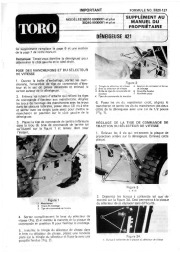 Toro 38010 421 Snowblower Manual, 1979 page 1