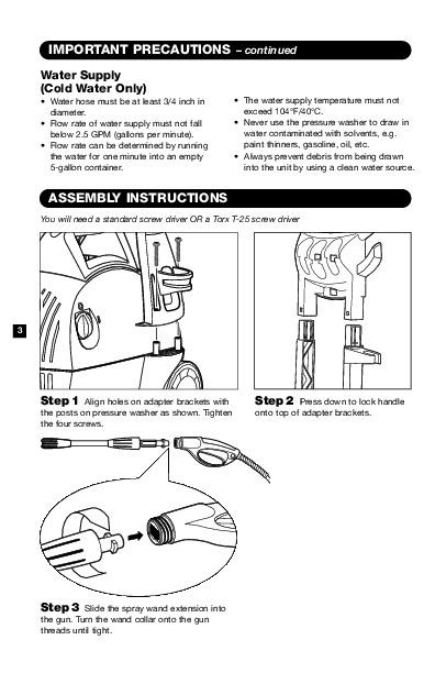 k rcher k 330 m electric power high pressure washer owners manual rh filemanual com Karcher Service Manuals for K3 Karcher Instruction Manual