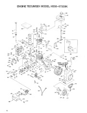 Toro 38054 521 Snowthrower Parts Catalog, 1992 page 10