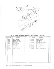 Toro 38054 521 Snowthrower Parts Catalog, 1992 page 13