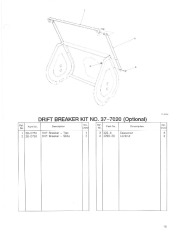 Toro 38054 521 Snowthrower Parts Catalog, 1992 page 15