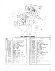 Toro 38054 521 Snowthrower Parts Catalog, 1992 page 3