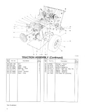 Toro 38054 521 Snowthrower Parts Catalog, 1992 page 4
