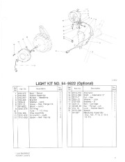 Toro 38054 521 Snowthrower Parts Catalog, 1992 page 7
