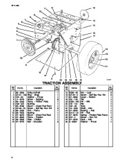 Toro 38054 521 Snowthrower Parts Catalog, 1996 page 4