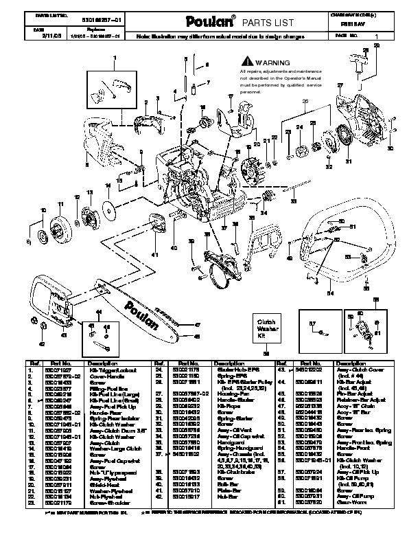 craftsman 33cc weed wacker diagram