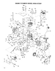 Toro 38052 521 Snowthrower Parts Catalog, 1986 page 10
