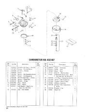 Toro 38052 521 Snowthrower Parts Catalog, 1986 page 14