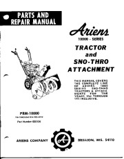 ariens deluxe 28 sho owners manual