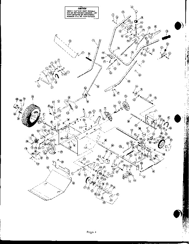 S1637110 further John Deere Snow Blower Parts Diagram together with Ariens 10962 000001 St724 7hp Snowblower Parts C 157125 157126 157132 besides 1598 Jd 240 Brakes further Viewtopic. on john deere 47 snowblower diagram