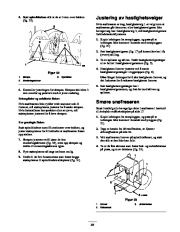 Toro 38053 824 Snowthrower Eiere Manual, 2000, 2001 page 23