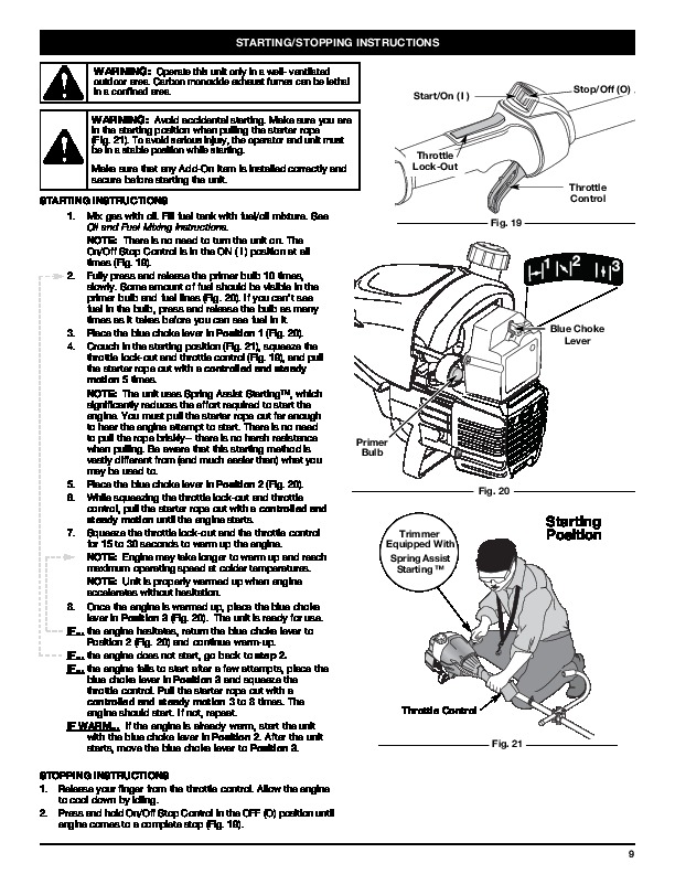 Huskee Mower Manuals : Mtd yard man ym bc cycle trimmer lawn mower owners manual