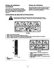 Toro 62925 206cc OHV Vacuum Blower Manuel des Propriétaires, 2003, 2004, 2005 page 5