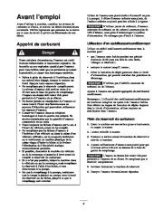 Toro 62925 206cc OHV Vacuum Blower Manuel des Propriétaires, 2003, 2004, 2005 page 9