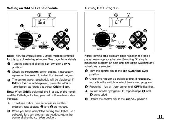 toro lawn sprinkler controller manual