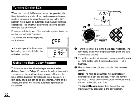 toro automatic sprinkler timer manual