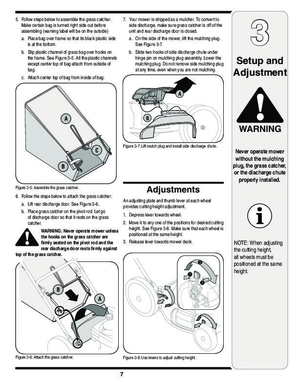 Yardman Mower Shop Manual