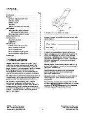 Toro 38026 1800 Power Curve Snowthrower Manuale Utente, 2004, 2005 page 2