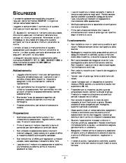 Toro 38026 1800 Power Curve Snowthrower Manuale Utente, 2004, 2005 page 3