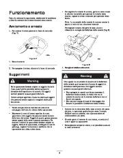 Toro 38026 1800 Power Curve Snowthrower Manuale Utente, 2004, 2005 page 8