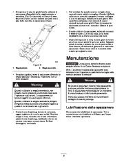 Toro 38026 1800 Power Curve Snowthrower Manuale Utente, 2004, 2005 page 9