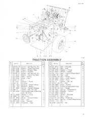 Toro 38054 521 Snowthrower Parts Catalog, 1993 page 3