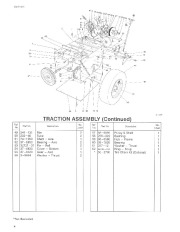 Toro 38054 521 Snowthrower Parts Catalog, 1993 page 4