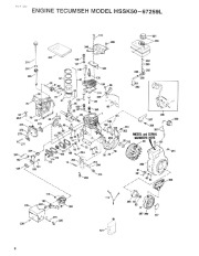 Toro 38054 521 Snowthrower Parts Catalog, 1993 page 8