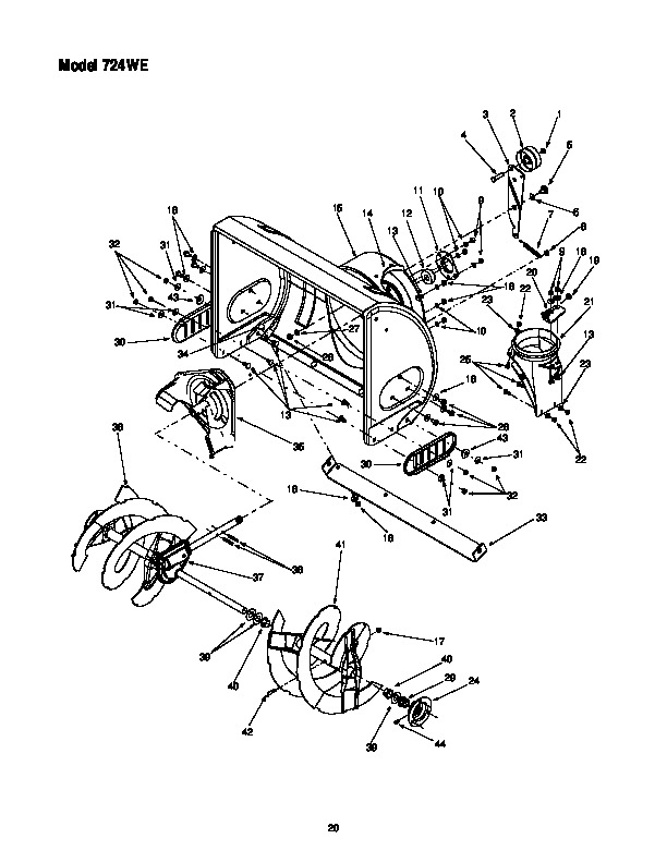 mtd cub cadet 724 we snow blower owners owners manual