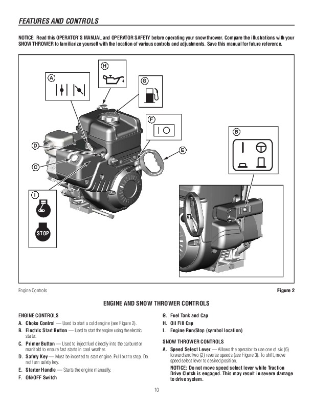 Murray Snow Thrower Parts Manual : Murray walk behind tp inch dual stage snow