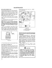 Toro 38052C 521 Snowthrower Owners Manual, 1988 page 16
