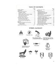 Toro 38052C 521 Snowthrower Owners Manual, 1988 page 3