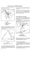 Toro 38052C 521 Snowthrower Owners Manual, 1988 page 6