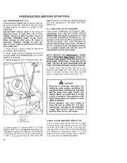 Toro 38052C 521 Snowthrower Owners Manual, 1988 page 8