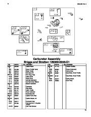 Toro 62925 206cc OHV Vacuum Blower Parts Catalog, 2006 page 13