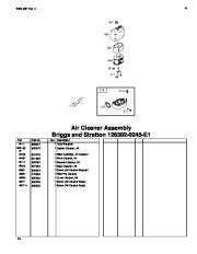 Toro 62925 206cc OHV Vacuum Blower Parts Catalog, 2006 page 14