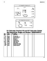 Toro 62925 206cc OHV Vacuum Blower Parts Catalog, 2006 page 21