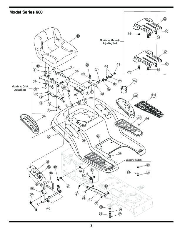 mtd yard machine mower parts