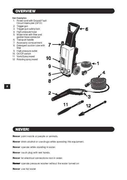 k rcher k 3 99 m 1600 psi electric power high pressure washer owners rh filemanual com karcher pressure washer manual pdf karcher pressure washer manual 2825f