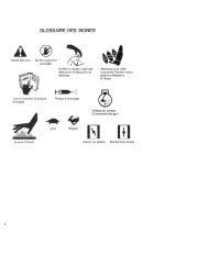 Toro 38052C 521 Snowthrower Manuel des Propriétaires, 1988 page 4