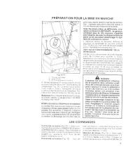 Toro 38052C 521 Snowthrower Manuel des Propriétaires, 1988 page 9