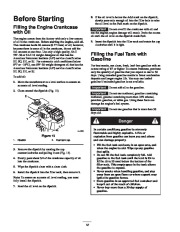 Toro 38053 824 Power Throw Snowthrower Owners Manual, 2003 page 12