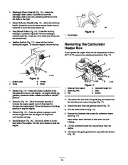 Toro 38053 824 Power Throw Snowthrower Owners Manual, 2003 page 14